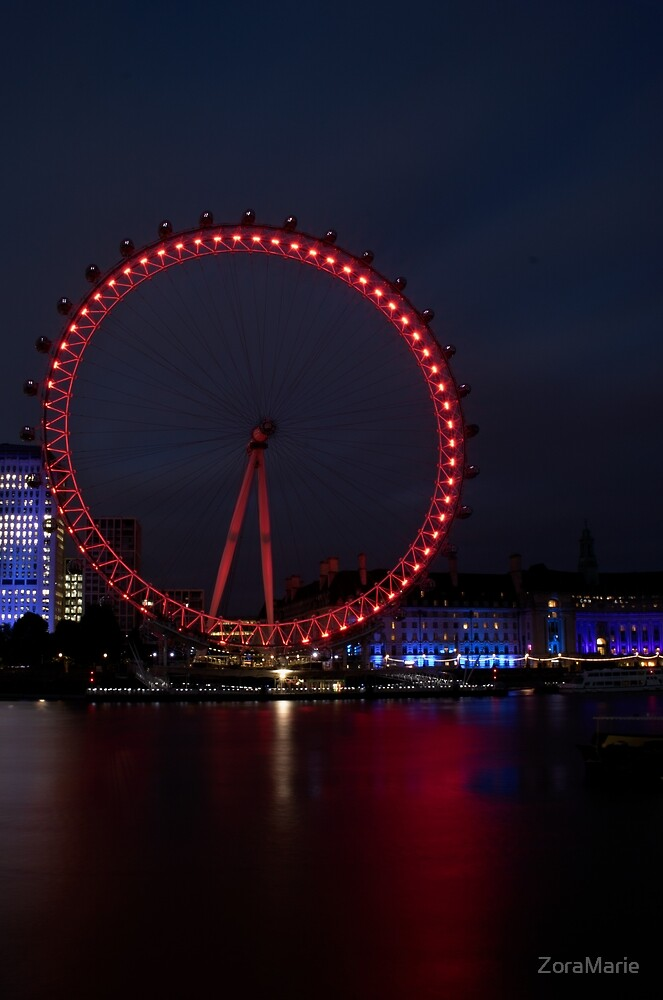 The London Eye by ZoraMarie