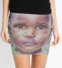 Toddler Girl Portrait Mini Skirt