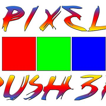 Pixel Pusher for Digital Artists and Photographers by JimPlaxco