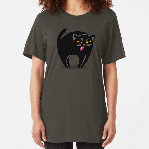 The Hissy Cat! Slim Fit T-Shirt