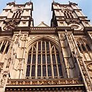 West Towers, Westminster Abbey by Mike Oxley