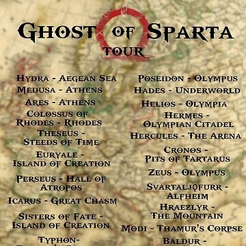 Ghost of Sparta - Tour Shirt by ShirtDude