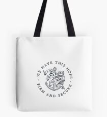 Christian sticker Tote Bag