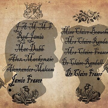 All the names of the Frasers (Outlander) by EstrellaDLT