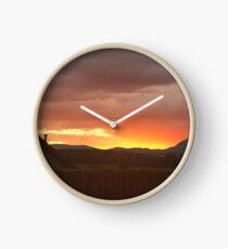 Scottish Sunset Clock