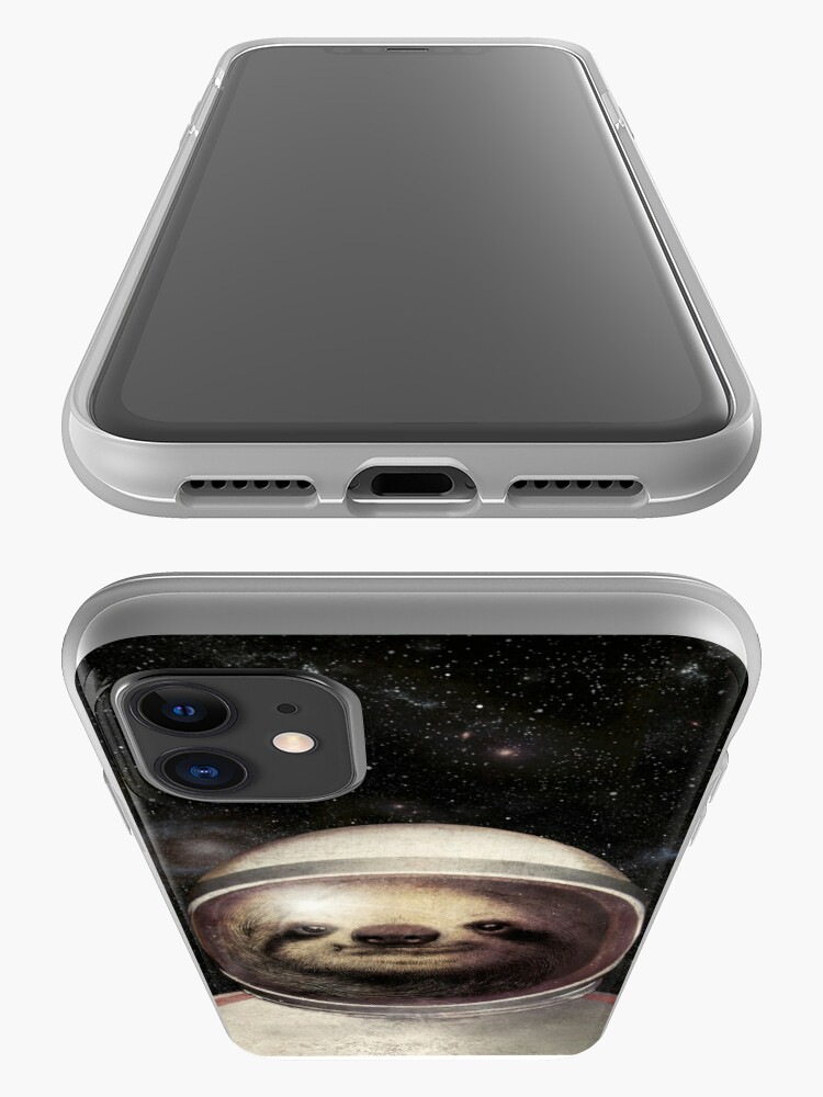 Alternate view of Space Sloth iPhone Case & Cover