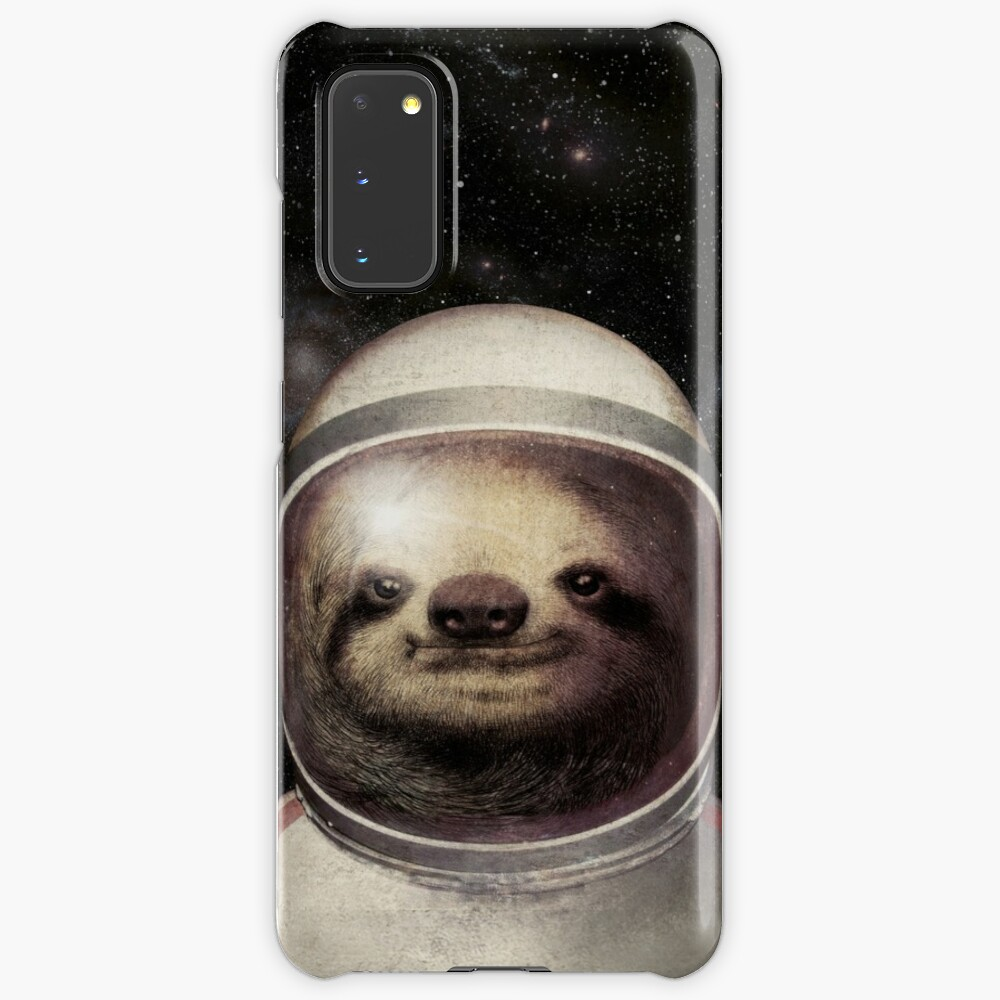Space Sloth Case & Skin for Samsung Galaxy