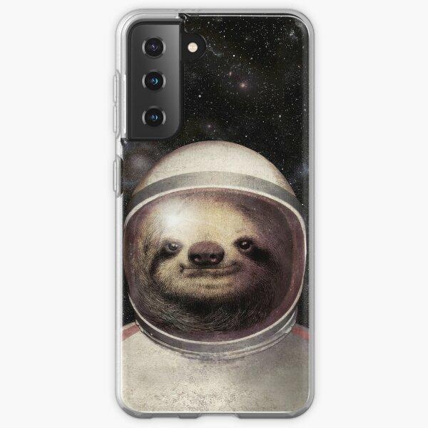 Space Sloth Coque souple Samsung Galaxy