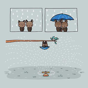 Rainy day by AndresColmenare