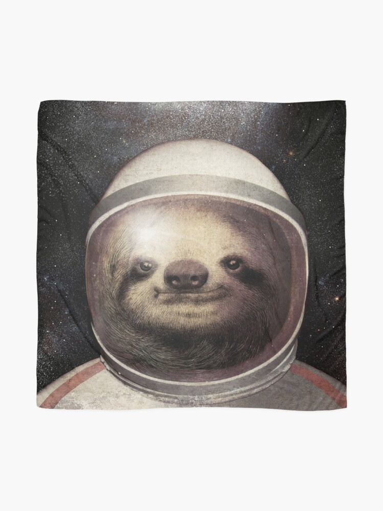 Alternate view of Space Sloth Scarf