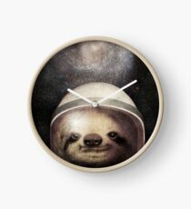 Space Sloth Clock