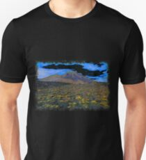 Volcano drawn Art Unisex T-Shirt