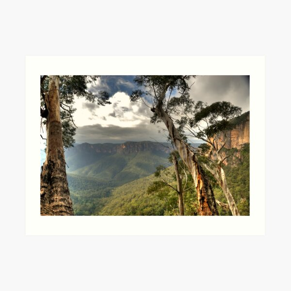 Govetts Leap # 2 Art Print