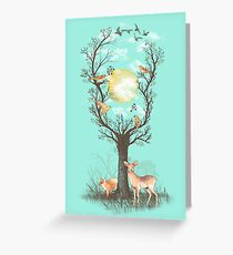Listen to the Birds Greeting Card
