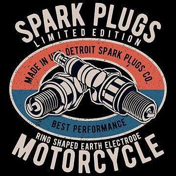 Spark Plugs Motorcycle by Skullz23