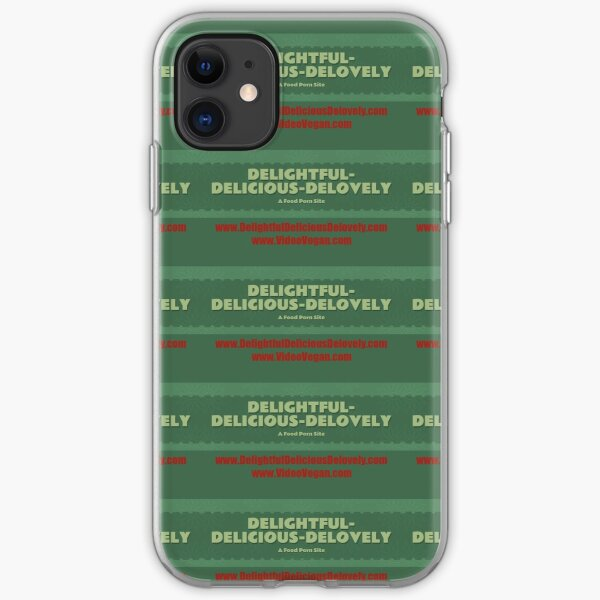 Delightful Delicious Delovely iPhone Soft Case