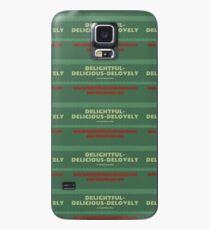 Delightful Delicious Delovely Case/Skin for Samsung Galaxy