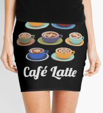 Cafe Latte Mini Skirt