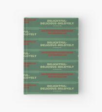 Delightful Delicious Delovely Hardcover Journal