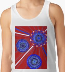 Red, White, and Blue Men's Tank Top