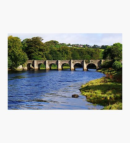 Castle Bridge, Buncrana Photographic Print