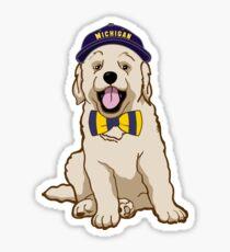 University of Michigan Pup Sticker