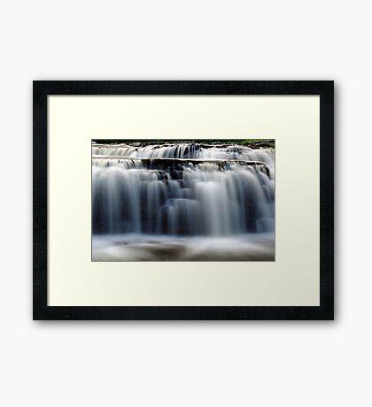Stair Falls - Detail Framed Print