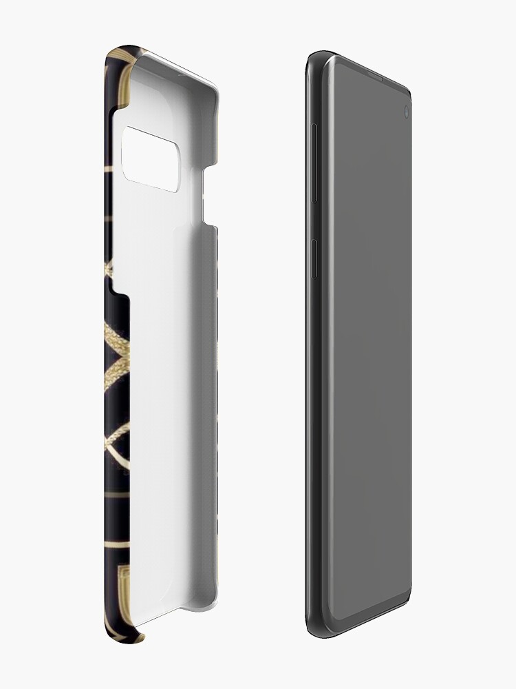 Alternate view of Art deco,vintage,1920 era,The Great Gatsby,gold,black,pattern,elegant,chic,modern,trendy Case & Skin for Samsung Galaxy