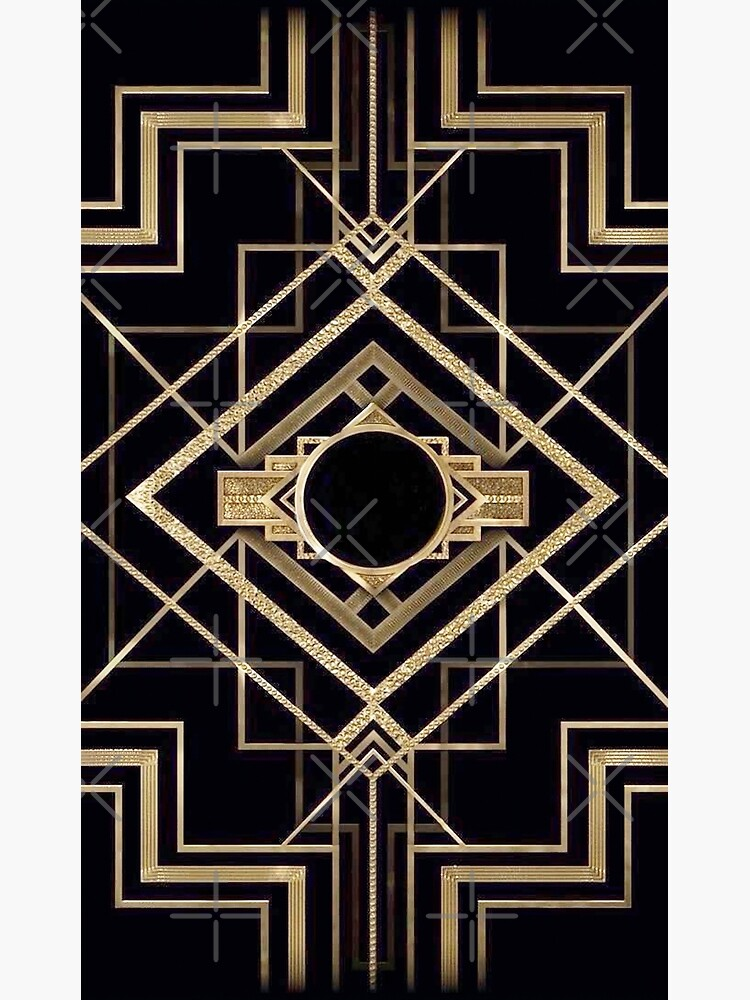 Art deco,vintage,1920 era,The Great Gatsby,gold,black,pattern,elegant,chic,modern,trendy by love999