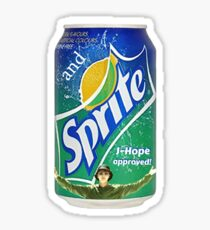 Jhope's Sprite Sticker