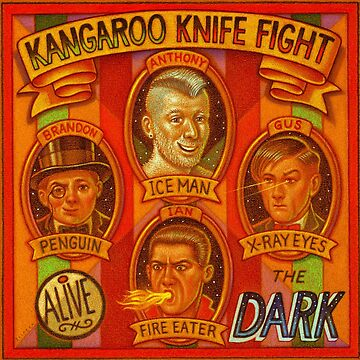 Kangaroo Knife Fight-The Dark by ThomasSciacca