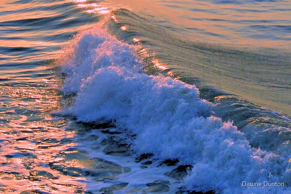 Ocean Wave by Dawne Dunton