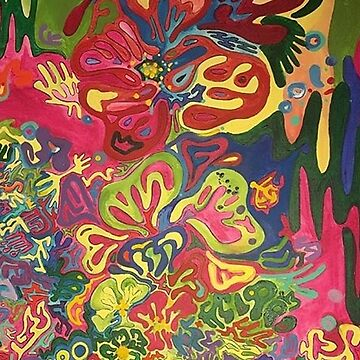 Introspektion Pattern Painting by gabrielahogg