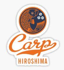 Hiroshima Carp Logo Retro Sticker