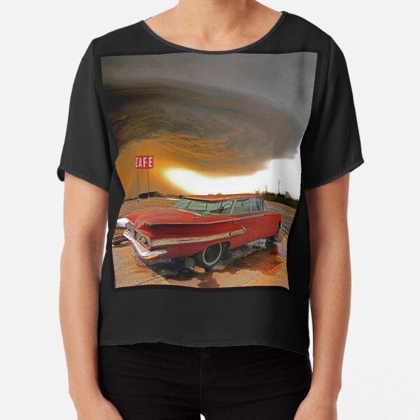 Impala & Impending Doom Chiffon Top