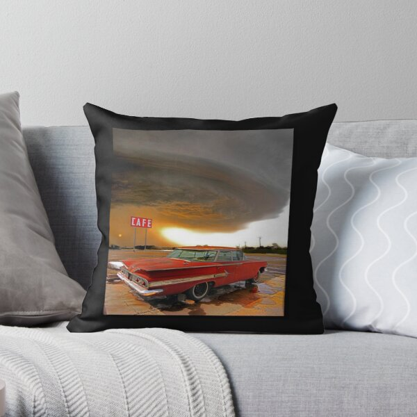 Impala & Impending Doom Throw Pillow
