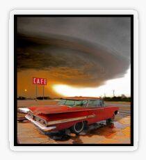 Impala & Impending Doom Transparent Sticker