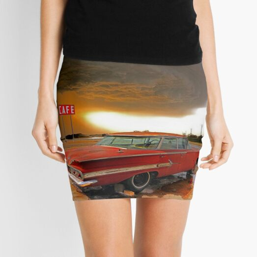 Impala & Impending Doom Mini Skirt