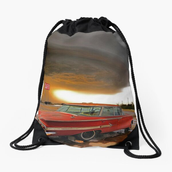 Impala & Impending Doom Drawstring Bag