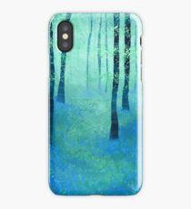 Bluebells, Challock iPhone Case