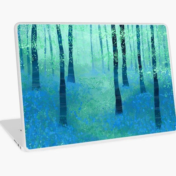 Bluebells, Challock Laptop Skin