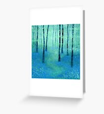Bluebells, Challock Greeting Card