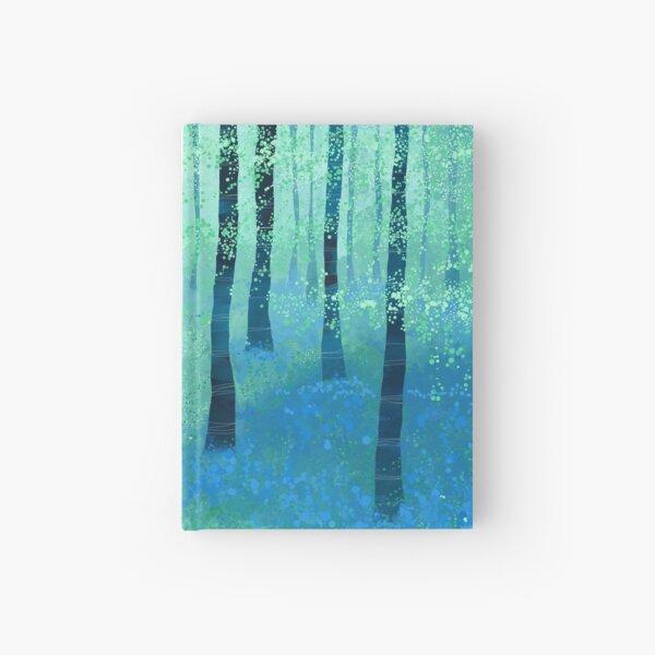 Bluebells, Challock Hardcover Journal