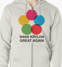 Make Krylon Great Again - Balls Zipped Hoodie