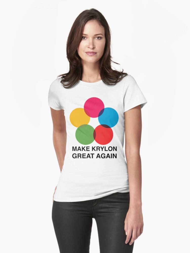 Make Krylon Great Again - Balls Womens T-Shirt Front