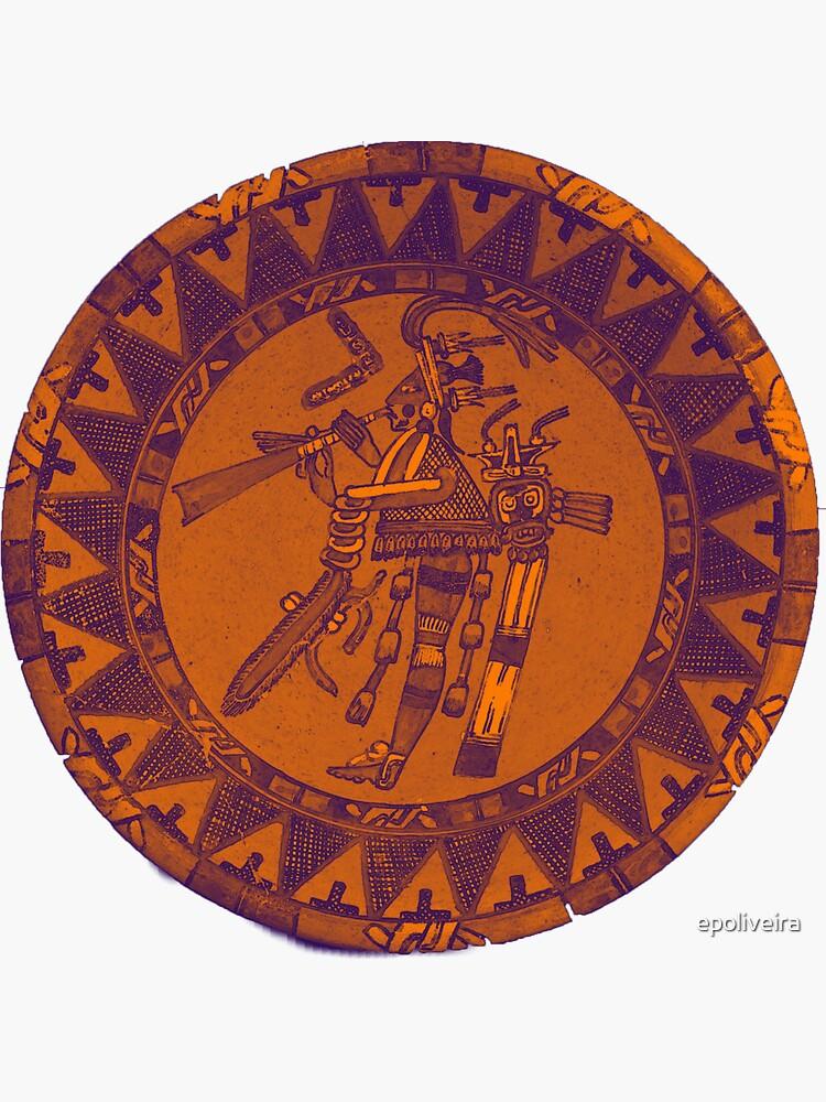 Mayan Artifact Art by epoliveira