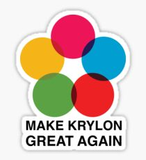 Make Krylon Great Again - Balls Sticker