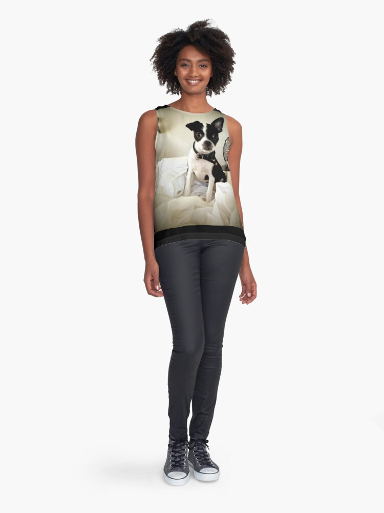 Alternate view of Keep an Ear To the Wind Sleeveless Top