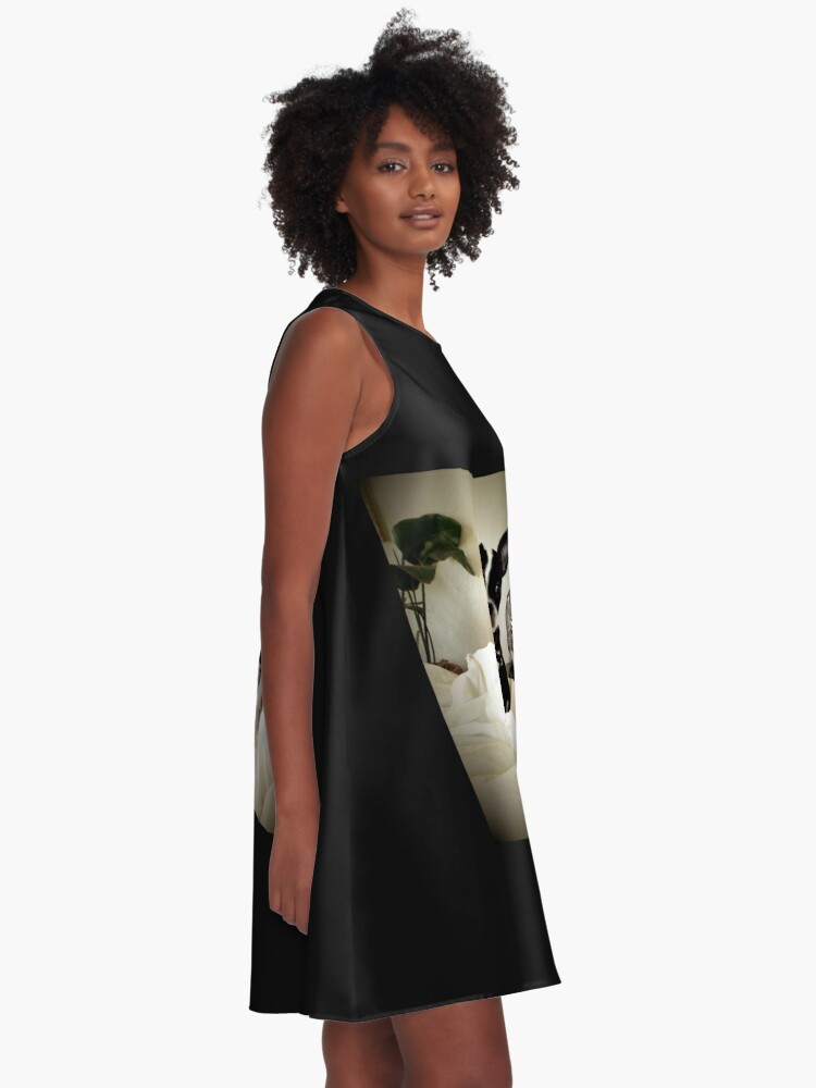 Alternate view of Keep an Ear To the Wind A-Line Dress