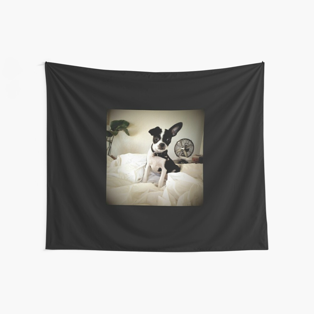 Keep an Ear To the Wind Wall Tapestry
